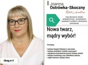 okręg nr 5 Ostrówka-Skoczny Joanna