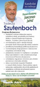 okręg nr 6 Szutenbach Tadeusz